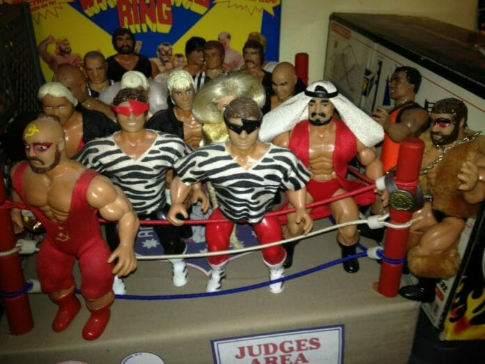 AWA All-Star Wrestlers wrestling figures by Remco.