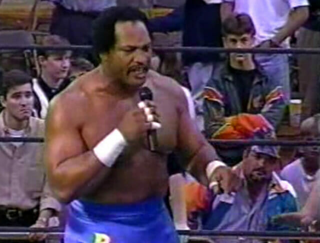 Ron Simmons in ECW.