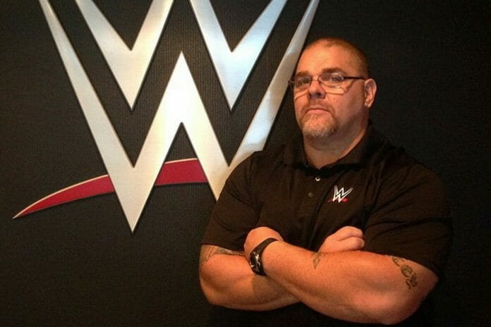 Bill DeMott while head trainer at WWE.
