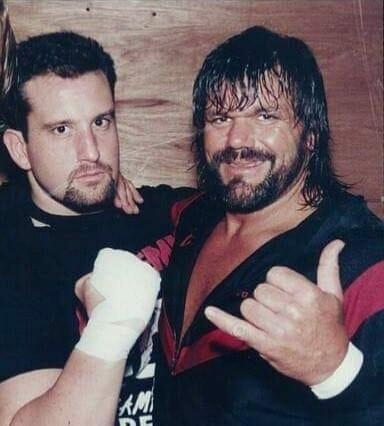 Dr. Death Steve Williams (alongside Tommy Dreamer) in ECW.