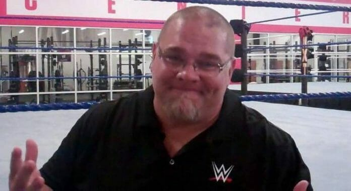 Bill DeMott while head trainer for WWE.