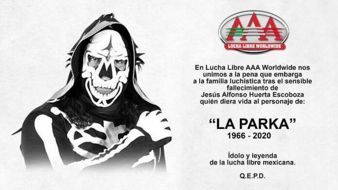AAA and the wrestling community lost La Parka (Jesús Alfonso Huerta Escoboza) in 2020. This tragedy effectively shelved the rivalry of Mexico's Grim Reapers.