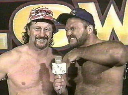 Arn Anderson (alongside Terry Funk) in ECW.