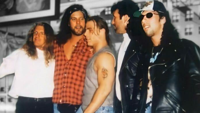 WWE's The Kliq: Triple H, Kevin Nash, Shawn Michaels, Scott Hall, and Sean Waltman.