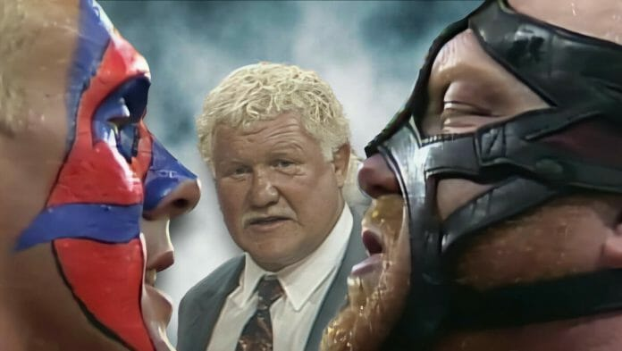 Sting, Vader, and Harley Race