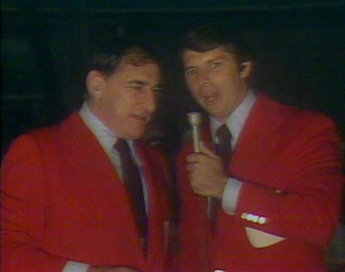 Vince McMahon alongside Antonino Rocco on September 13th, 1975's edition of All-Star Wrestling.