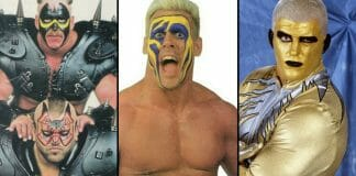 While many wrestlers have donned face makeup over the years, we dive into the stories of seven face-painted pioneers who wore war paint to the ring, even if there were a few mishaps and dangerous conditions for some!
