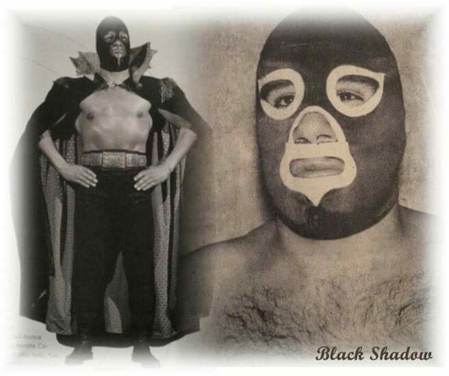 The ever-popular luchador, Black Shadow. [Photo provided with thanks by Douglas Valdez]