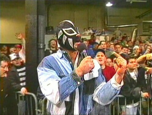 ECW's Unnamed Masked Man.