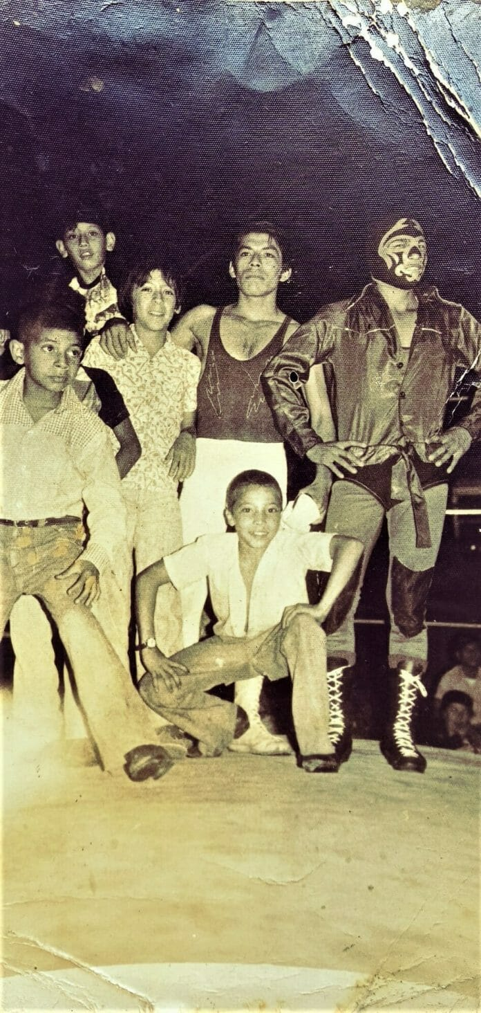 The Rayman always worked babyface and was a superb technical wrestler and idol to many Salvadoran children. Those same children grew up and still recognize him on the street.