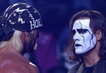 Hogan Hogan and Sting - The Mess at WCW Starrcade 1997