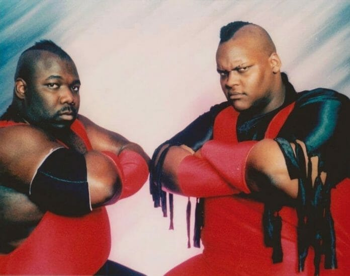 Before landing in the WWF in 1993, Men on a Mission called themselves Harlem Knights (Bobby Knight and Nelson Knight) and were heels in the USWA and PWF. When starting out in North Charleston, South Carolina, they called themselves The Death Squad. Once the chance arose to turn heel once again while in the WWF, there was little hesitation.