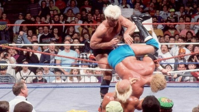 Ric Flair put in a marathon 60-minute-plus performance in the 1992 Royal Rumble.