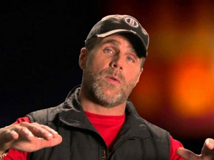 Shawn Michaels after an eye injury left him with a permanent lazy eye.