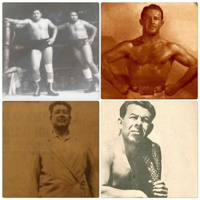 The trainers who shaped The Tempest's career. From clockwise and left to right: Raul