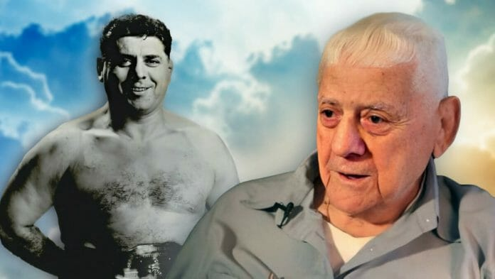 Mario Louis Fornini was an Italian professional wrestler and wrestling promoter, better known professionally as Angelo Savoldi. At 99, he was known as the world's oldest retired wrestler.