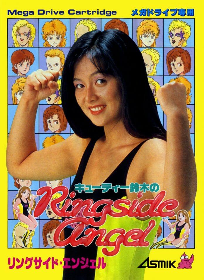 Cutie Suzuki's No Ringside Angel video game for Sega Genesis was released in 1990. [