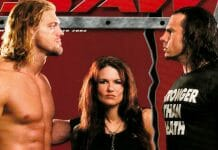 The Edge, Matt Hardy, and Lita love triangle storyline very much incorporated elements of real-life.