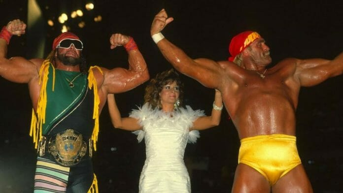 Randy Savage, Miss Elizabeth, and Hulk Hogan. The real-life animosity between Savage and Hogan has been well-documented over the years.