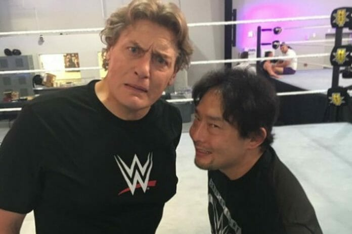 Many years later, William Regal and Tajiri still have a lovable, oddball relationship.