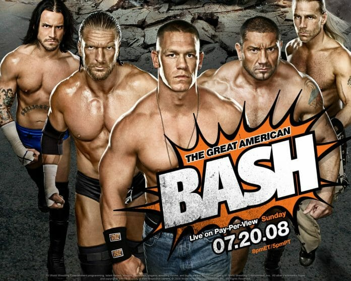 The Great American Bash in 2008 was WWE's last TV-14 event.