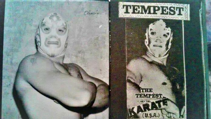 """""""The Tempest"""" Delfino Epindola Serrano."""