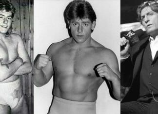 William Regal over the years.