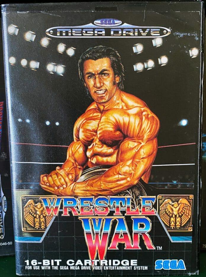 Wrestle War for the Sega Megadrive.