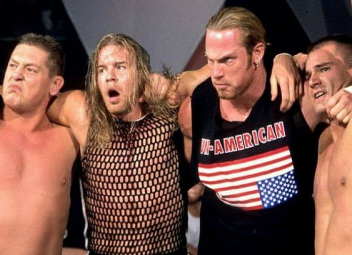 The Un-Americans: William Regal, Christian, Test, and Lance Storm.