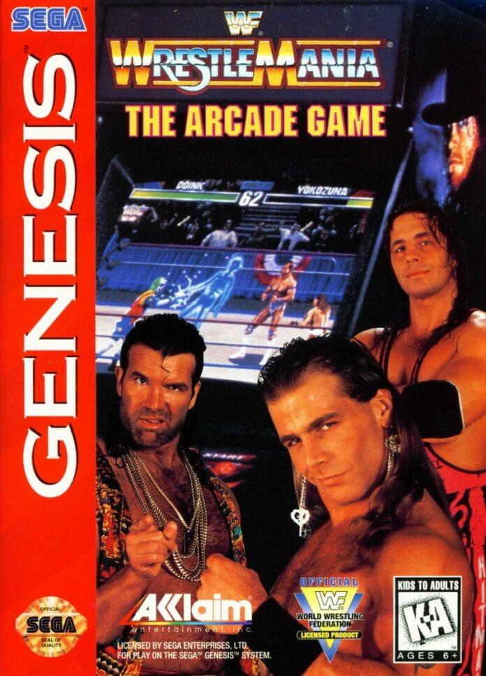 WWF WrestleMania: The Arcade Game on Sega Genesis (1995).
