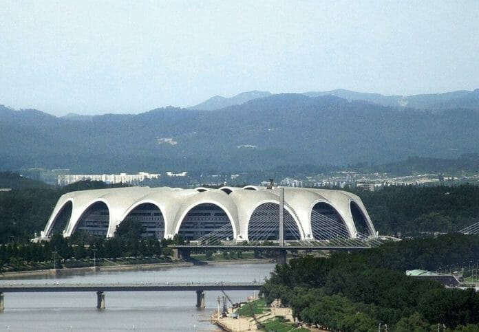In Pyongyang, North Korea, May Day Stadium housed Collision in Korea, which was the largest crowd ever to attend a wrestling event.
