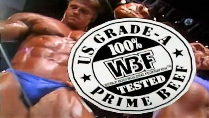 The WBF promised to present bobybuilding as no one else had before. There was no lack of brawny oiled-up beef, beauty, and high production values in the company's events.