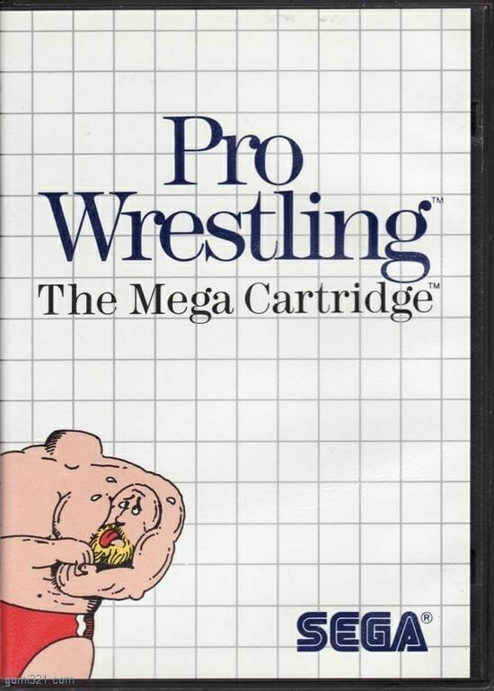 Pro Wrestling video game for the Mega Cartridge (1986).