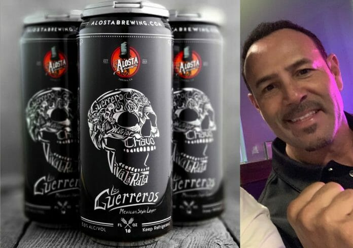 Los Guerreros Mexican style lager by Chavo Guerrero Jr.