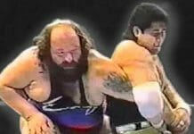 "When ""Earthquake"" John Tenta faced off against Kōji Kitao on March 30th, 1991, things turned real!"