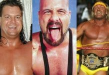 Mike Awesome, Horace Hogan (Michael Bollea), and Hulk Hogan.