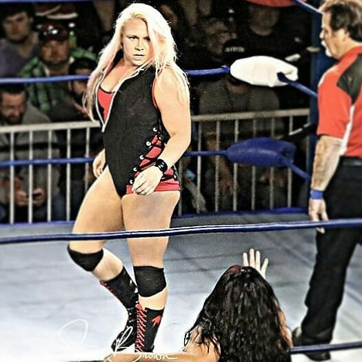 Miranda Gordy is the current torchbearer of the Gordy family name in wrestling.