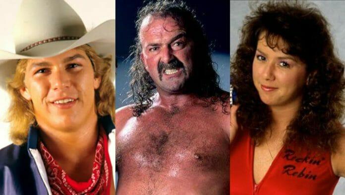 "Siblings Sam Houston, Jake ""The Snake"" Roberts, and Rockin' Robin."