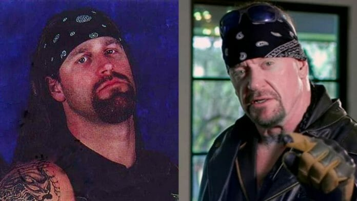 Brian Lee and The Undertaker.