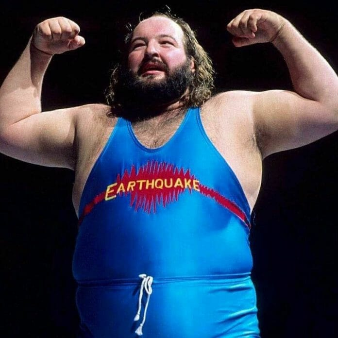 Most accounts relate John Tenta to have been a happy-go-lucky fellow, but the 400+ Earthquake is not a man you would want to antagonize.