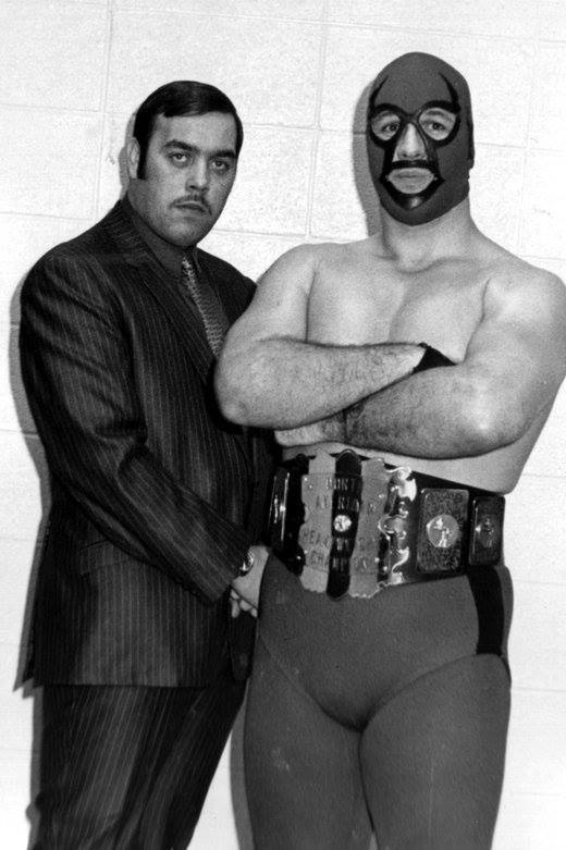 Although The Spoiler, seen here with Gary Hart, was known as an aggressive competitor inside the ring and sometimes short-tempered outside, his ex-wife did the unthinkable.