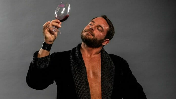 """""""The Connoisseur"""" Niles Plonk - winery owner by day, professional wrestler by night!"""