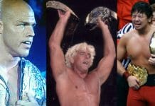 Kurt Angle, Ric Flair, and Shinsuke Nakamura are amongst those who have had the rare distinction of holding more than one world heavyweight championship at the same time.