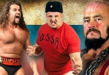 """Rusev, Nikolai Volkoff, and Ivan Koloff are amongst those who have portrayed """"Evil Russians"""" in wrestling."""