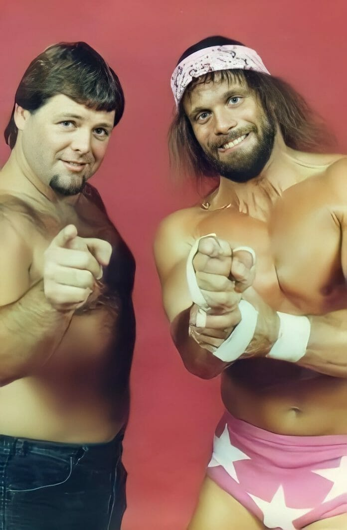 """The highly anticipated match between Jerry """"The King"""" Lawler and Randy """"Macho Man"""" Savage in December of '83 drew more than 8,000 fans at sold-out Rupp Arena."""