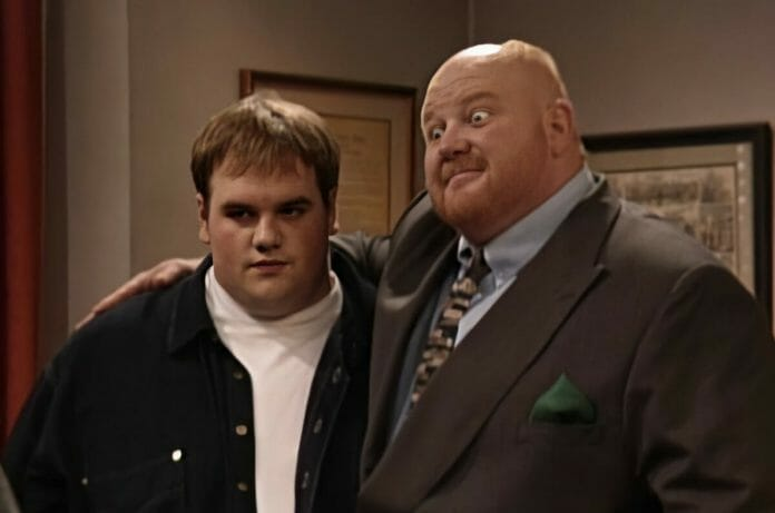Frankie Stechino Jr., as played by Ethan Suplee, is the son of Big Van Vader on Boy Meets World.