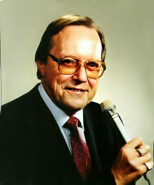 The soundtrack of the youths of many wrestling fans: Gordon Solie.