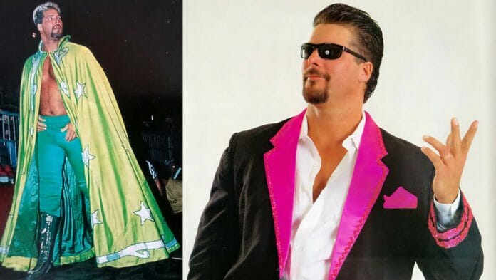 Kevin Nash as Oz (left) and Vinnie Vegas (right) in WCW.
