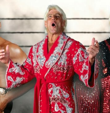 The Nature Boys: Buddy Rogers, Ric Flair, and Buddy Landel.