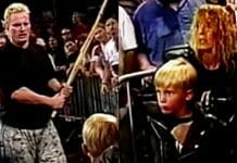 On October 26th, 1996, ECW went too far. On this night, an angle involving The Sandman was so distasteful and confusing that the usually exuberant ECW arena crowd fell silent. One future WWE superstar even threatened legal action if the company associated him in any way with this very controversial incident.